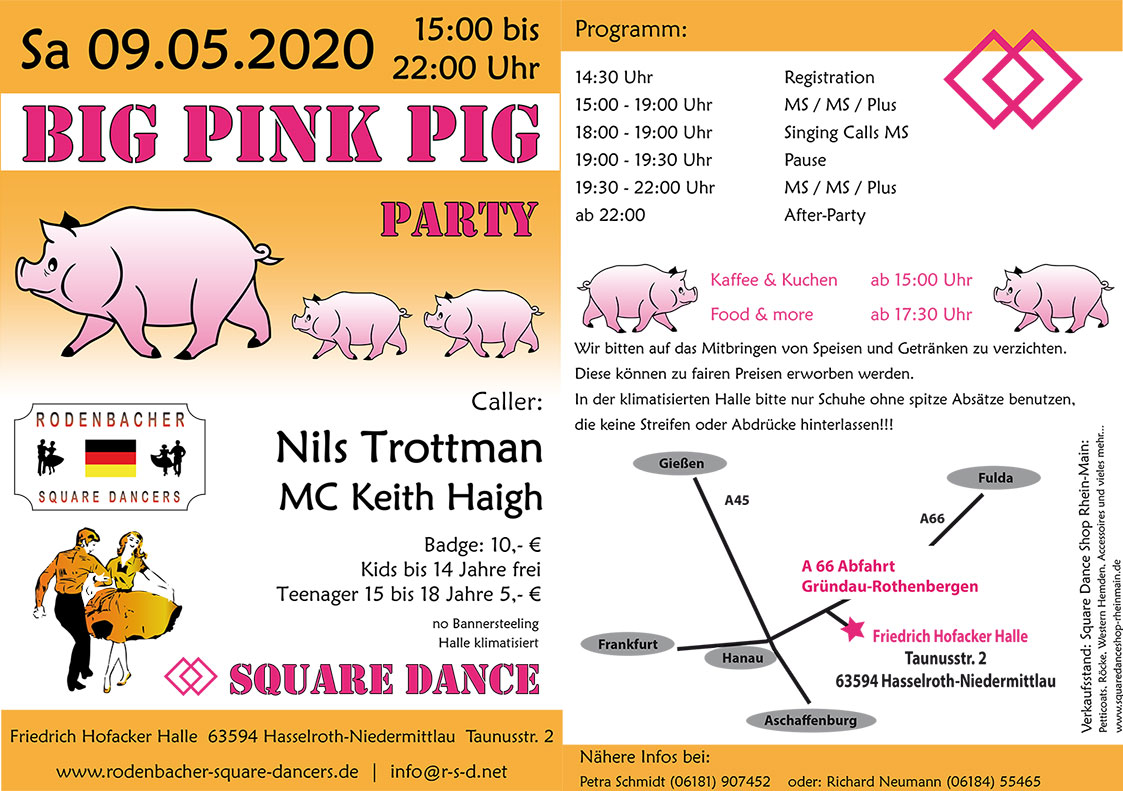 Big Pink Pig Party 2020